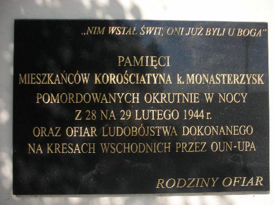 Tablica w Radwanowicach