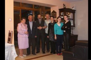 2013 - 18 maja - rodzina Urszuli i Dariusza Daczyńskich w Przeciszowie