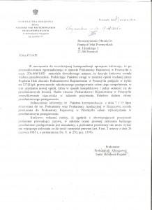 Decyzja prokuratury o wznowieniu VIII 15