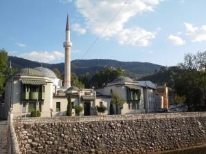 Sarajewo (Bośnia) - jeden z wielu meczetów