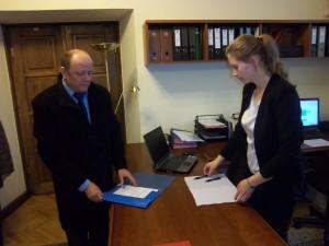 Złożenie dokumentów u Prezydenta Miasta Lublin