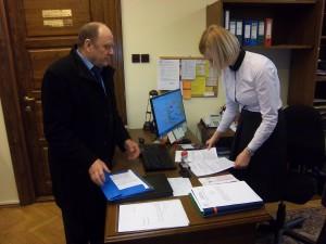 Złożenie dokumentów u Przewodniczącego Rady Miasta Lublin