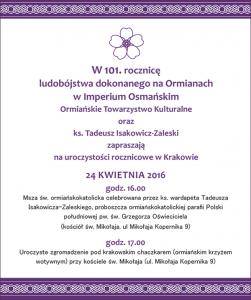 Kraków Wwa Genocyd