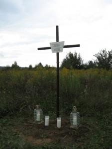 krzyż na Perczynie 29.08.2012