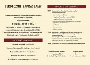 Program 8 VII Wrocław