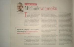 Ziemkiewicz Michnik w amoku
