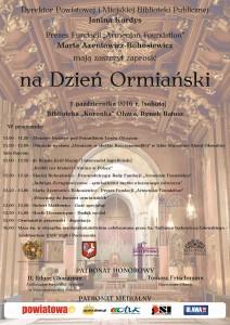 dzien ormianski 2016 - plakat