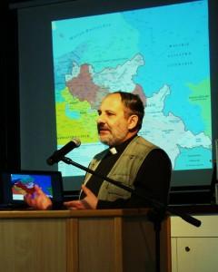 Tematem wiodącym wykładu ks. Tadeusza Isakowicza Zaleskiego była historia oraz obecne relacje polsko - ukraińskie.
