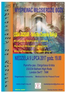 Londyn 2017 plakat