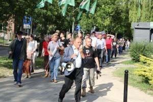 Marsz w obronie pamięci pomordowanych na Wołyniu